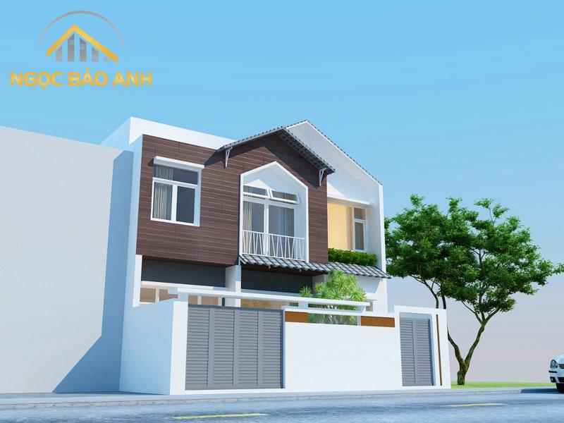 Thiết kế nhà chị Liên - Lào Cai
