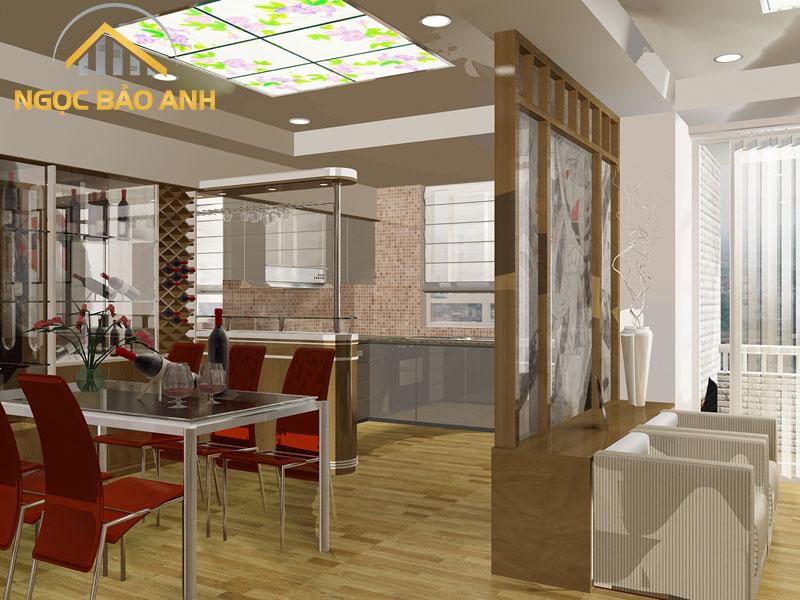 Thiết kế nội thất gia đình đẹp tại Hà Nội