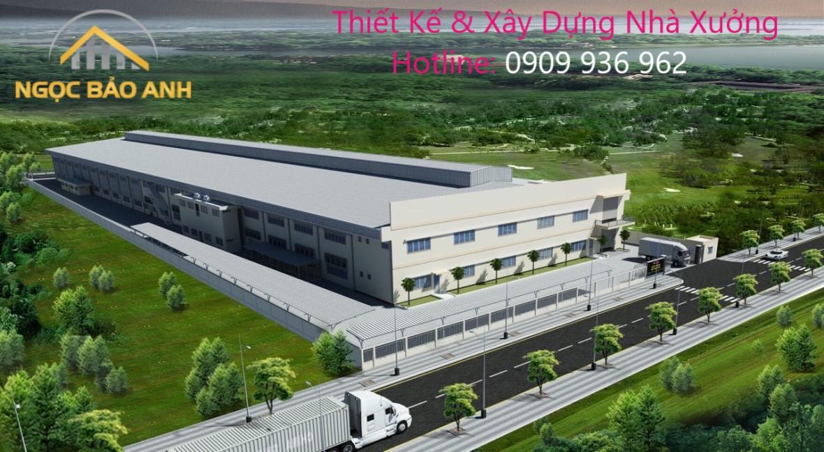 Sửa Chữa Nhà Xưởng KCN Lê Minh Xuân Bình Chánh