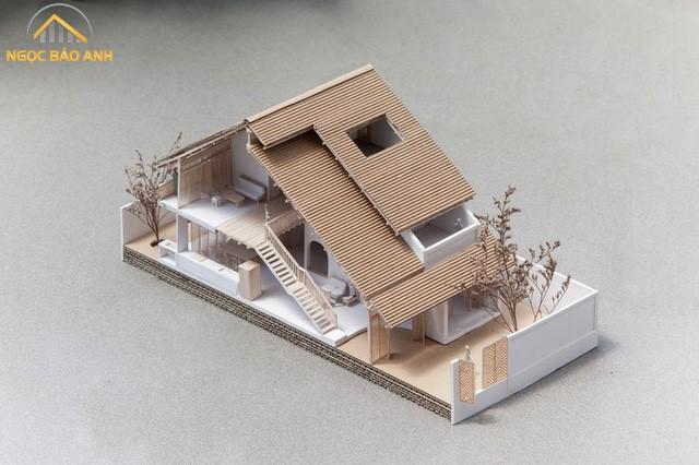 Ngôi nhà 3 tầng độc đáo tại Tp.HCM